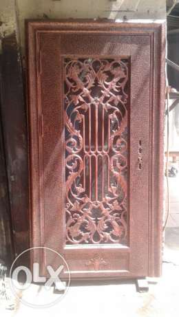 Exterior antique artistic door