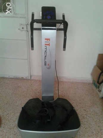 Vertical vibration plate