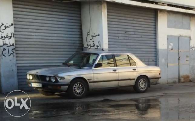 bmw 525 for sale model 1982