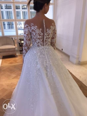 wedding dress by zuhair mrad collection 2017