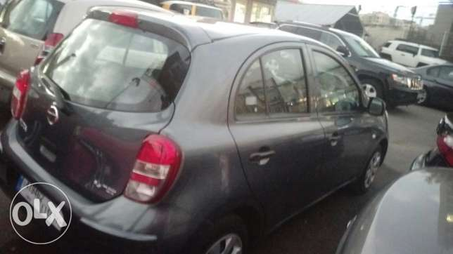 Nissan micra 2013 fully loaded 41000 km انطلياس -  4