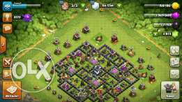 Clash of clans t.h 9 put your price and cntct me