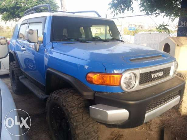 Jbeil Fj cruiser blue & black 4 / 4 OF rood ARB navigation camera full