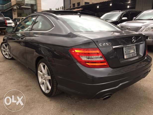 Mercedes c250 coupe 2012 سن الفيل -  4