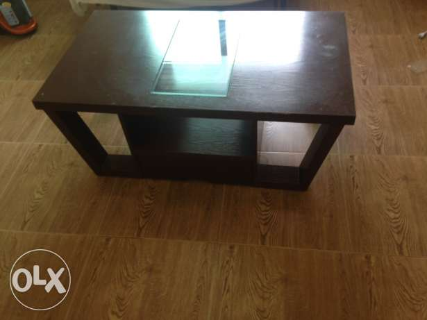 tv table + drawer + coffee table