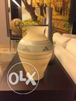antique yellow vase