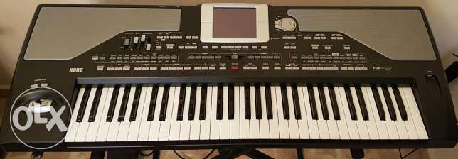 KORG pa800 ex pro v2 For Sale with Soft Case + Stand دامور -  1