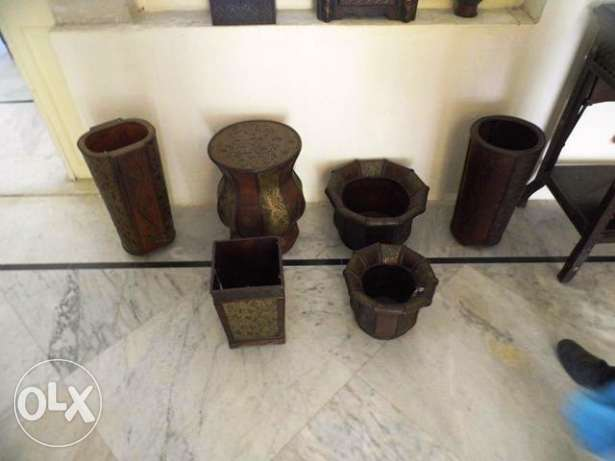 Wooden collection of different items any item $ 20