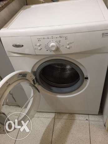 whirlpool washer 6Kg new not used at all المرفأ -  1