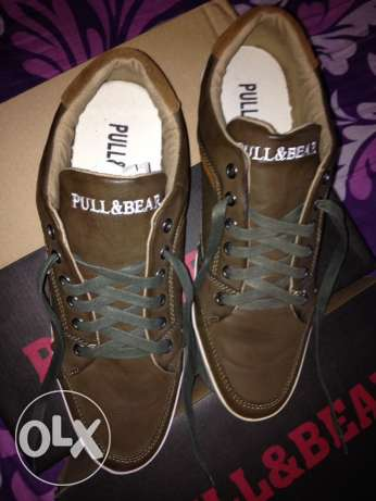 Pull and Bear genuine leather shoes