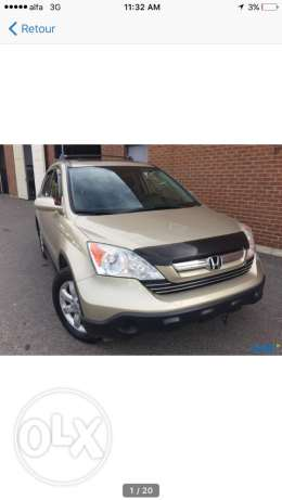 crv exl with camera and navigation, clean car fax