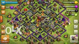 clash of clans level 110