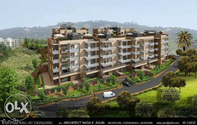 Apartments with terras at bleybel 1200$/sqm