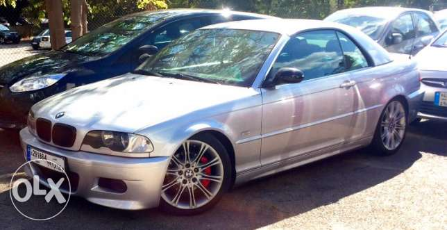 Bmw 320i convertible (soft top + hard top) sport package model 2001