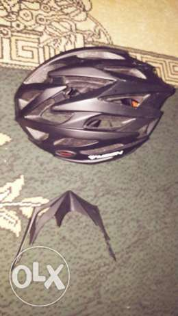 Helmet + speedometer Like New