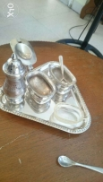 Antique Very old set made by silver,100 years old. انتيك فضه فضة