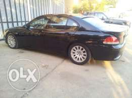 Bmw full all the axtres black in out