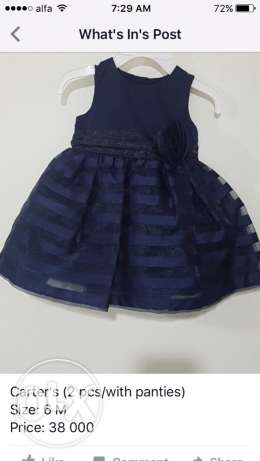 carters dress, size: 6M