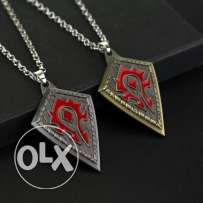 2 Colors New Fashion Online Game WOW Inspired Horde Logo Metal Pendant