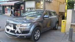 Audi Q7 2012 Grey color