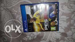 Ps4 game pess2016 for sale very clean arabic nd English 17$