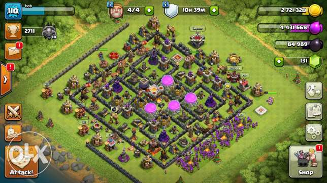 Clash of clans base for sale for 250alf