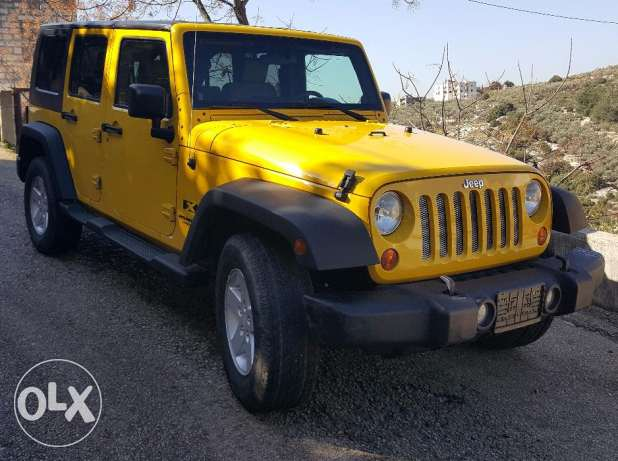 wrangler unlimited 2008