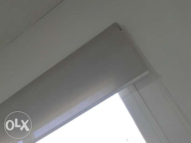 Light grey curtain 200/225