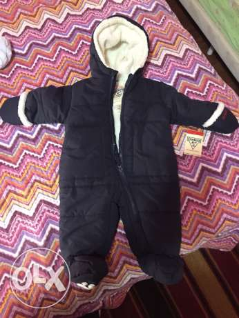New baby winter overall jacket