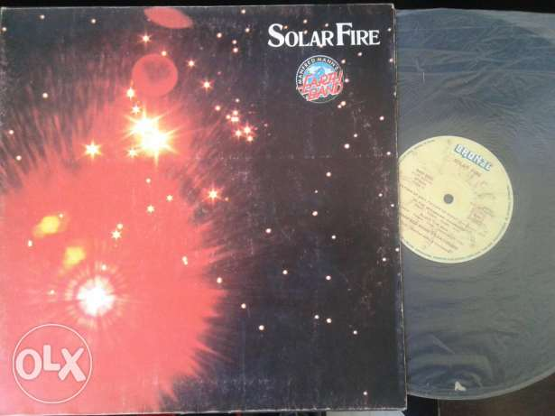Vinyl : Solar fire- Earth band