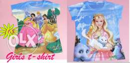 Frozen princess girls shirt