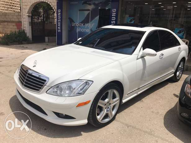Mercedes S550 look 2009 AMG ajnabye new arrived