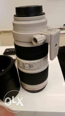 Canon 70 200 is2 f2.8 غبيري -  1