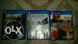 Call of duty aw and assassins creed blackflag and bfh sale or trade