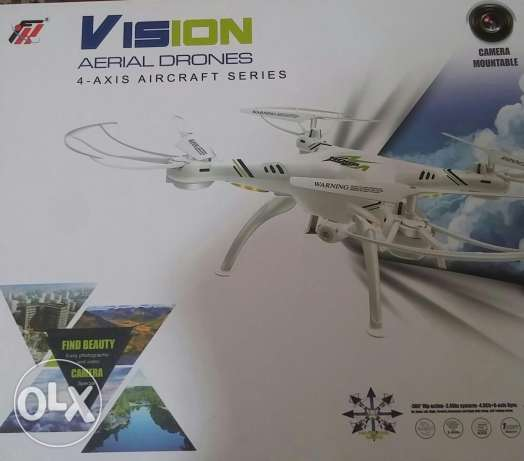 Vision drone fpv camera quadcopter طياره