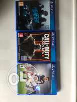 3 Playstation 4 Games for sale or trade to fifa 2017