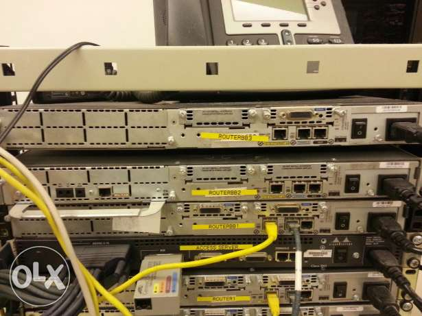 cisco router c2511terminal server