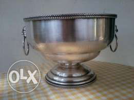 Silver Massif Bowl, very old, hand made
