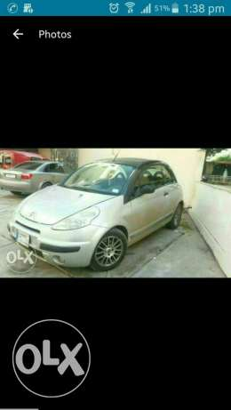 Citroen c3 pluriel kashf steptronic .full option ankad .model 2004