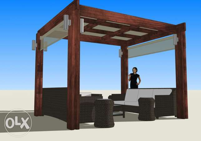3D DESIGNER for your PERGOLA and outdoors انطلياس -  4