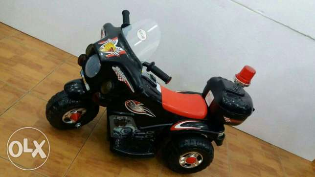 police motorcycle baby - Blue - Red