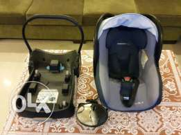 Car Seat (bebeconfort) + Base + Mirror Rear View