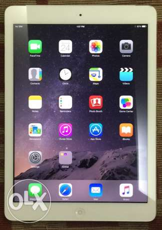 ipad air1 white color 4G+wifi 16gb like new