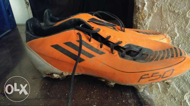 F 50 soccer shoes