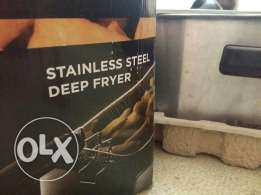 Stainless steel Deep Fryer مقلاية بطاطا