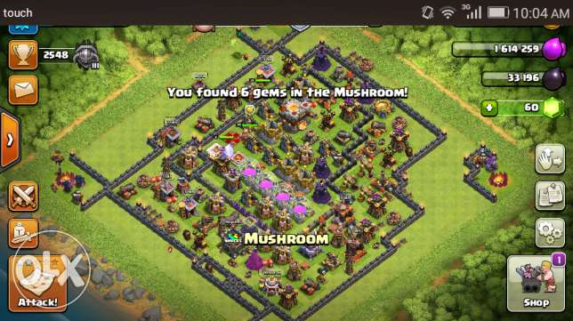 Clash of clans is very nice to have fun.