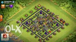 clash of clan town hall 9max