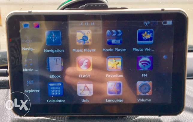 """GPS navigation 7"""" with flash memory & more in very good cond"""
