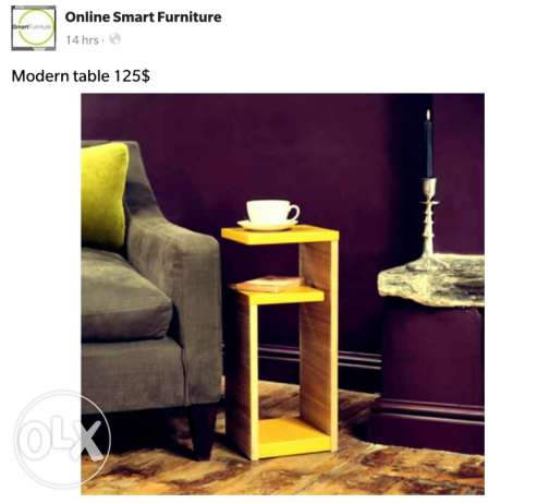 Online smart furniture