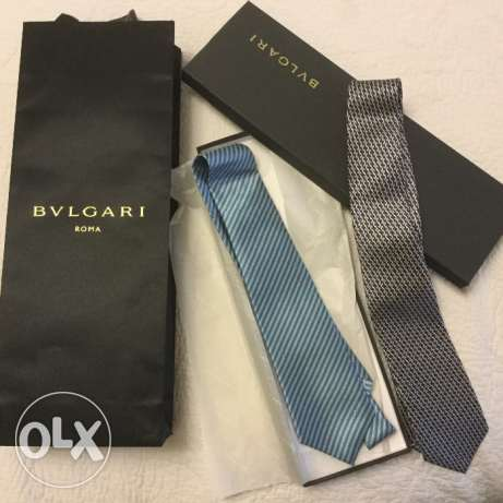 2 Bulgari Ties brand new with tags راس  بيروت -  1